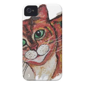 Orange Cat iPhone 4 Case-Mate Cases