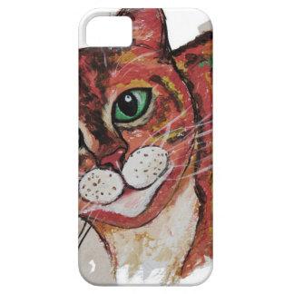 Orange Cat iPhone 5 Cover