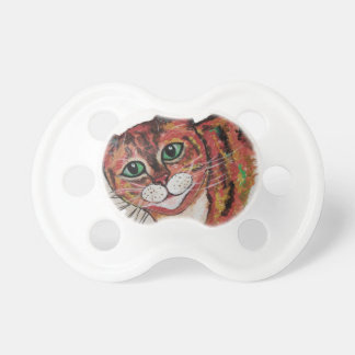 Orange Cat Pacifier