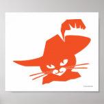 Orange Cat Posters