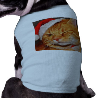 Orange cat - Santa claus cat - merry christmas Shirt