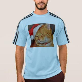 Orange cat - Santa claus cat - merry christmas T-Shirt