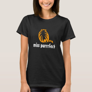 Orange cat t shirt | Miss purrfect