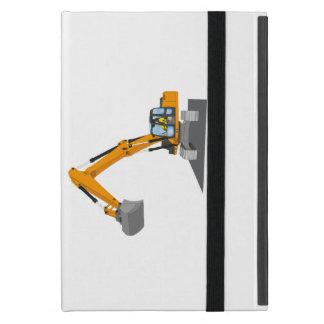 orange chain excavator cases for iPad mini