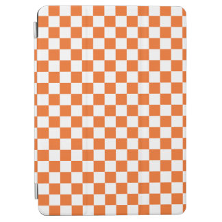 Orange Checkerboard iPad Air Cover