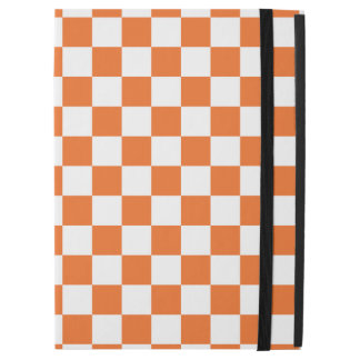 "Orange Checkerboard iPad Pro 12.9"" Case"