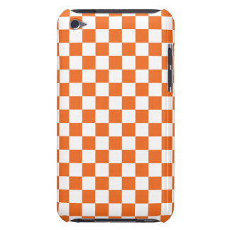 Orange Checkerboard iPod Case-Mate Cases