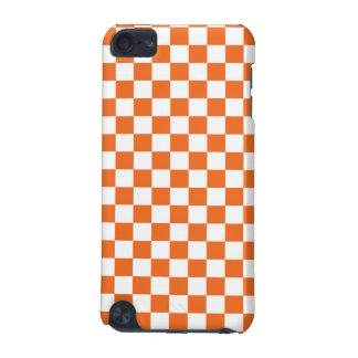 Orange Checkerboard iPod Touch (5th Generation) Cover