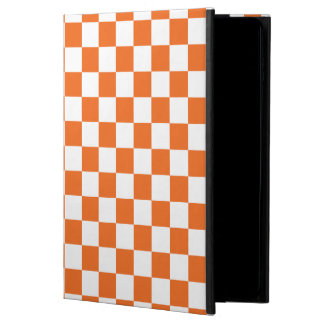 Orange Checkerboard Powis iPad Air 2 Case