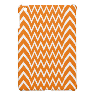Orange Chevron Illusion iPad Mini Case