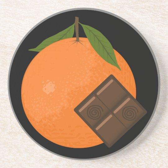 Orange Chocolate Coaster