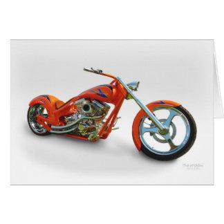 Orange  Chopper Card