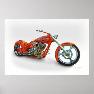 orange chopper poster