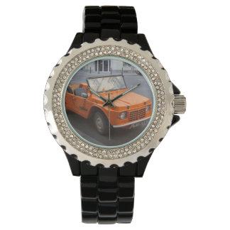 Orange Citroën Mehari Watch