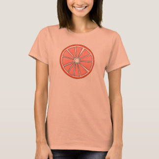 Orange Citrus Fruit Slice Tee Shirt