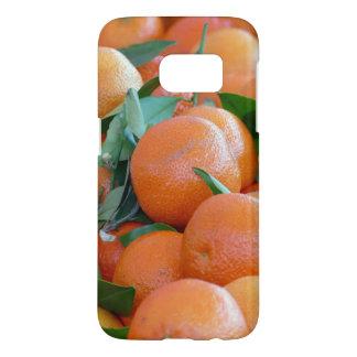 Orange citrus, tangerine samsung galaxy s7 case