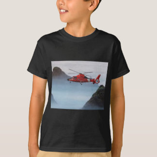 Orange Coast Guard Helicopter T-Shirt