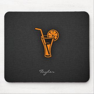 Orange Cocktail Mouse Pad