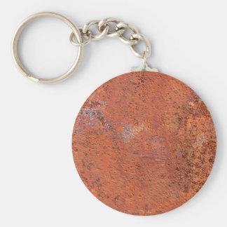 Orange Concrete Keychains