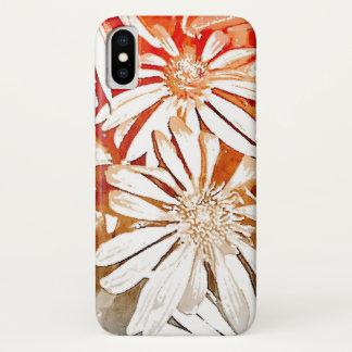 Orange Coneflower Phone Case