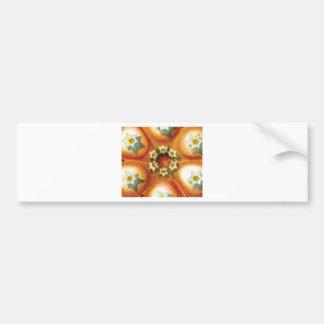 orange core art bumper sticker