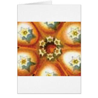 orange core art card