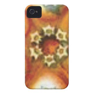 orange core art iPhone 4 case
