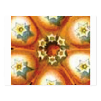 orange core art postcard