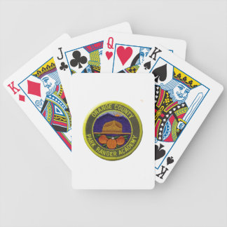Orange County Ranger Academy Bicycle Playing Cards