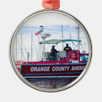 Orange County Sheriff Metal Ornament