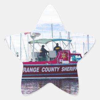 Orange County Sheriff Star Sticker
