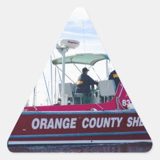 Orange County Sheriff Triangle Sticker