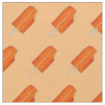 Orange Cream Ice Cream Creamsicle Popsicles Fabric