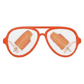 Orange Creme Creamsicle Ice Cream Popsicle Shades Sunglasses