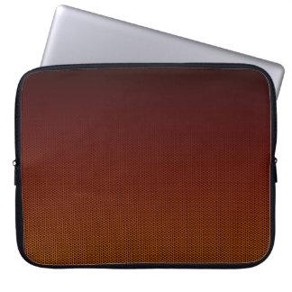 Orange Crush Hex Laptop Sleeve
