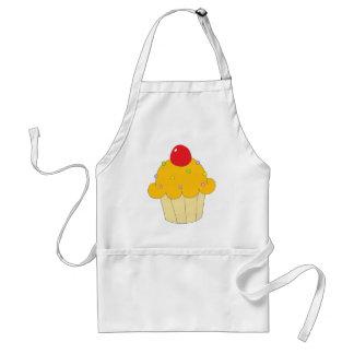 Orange Cupcake Standard Apron
