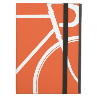 Orange Cycle Love Hipster  iPad Case