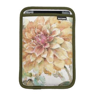 Orange Dahlia iPad Mini Sleeve
