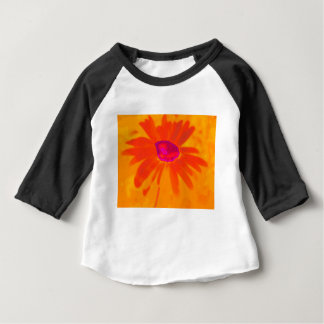 Orange Daisy Baby T-Shirt