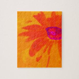 Orange Daisy Jigsaw Puzzle