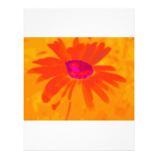 Orange Daisy Letterhead