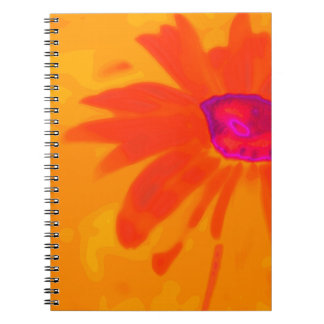 Orange Daisy Notebook