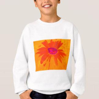 Orange Daisy Sweatshirt
