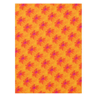 Orange Daisy Tablecloth
