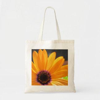 Orange Daisy Tote Bag