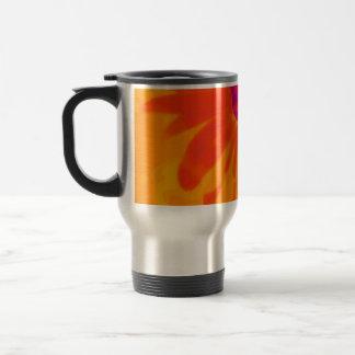 Orange Daisy Travel Mug