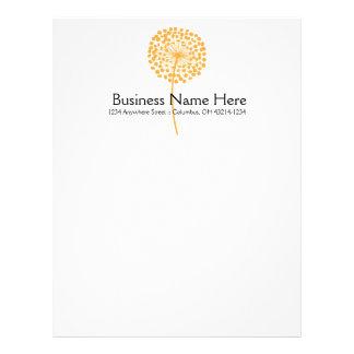 Custom letterhead. Print letterhead