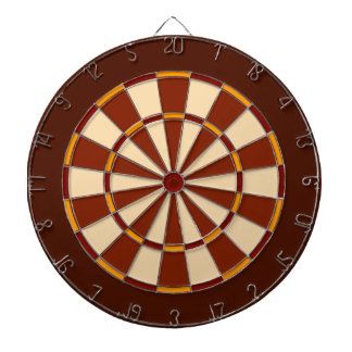 Orange Dartboard