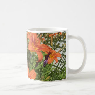 Orange Day Lilies at the Farm Coffee Mug