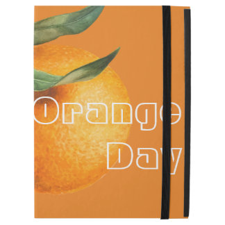 "Orange Day Today iPad Pro 12.9"" Case"